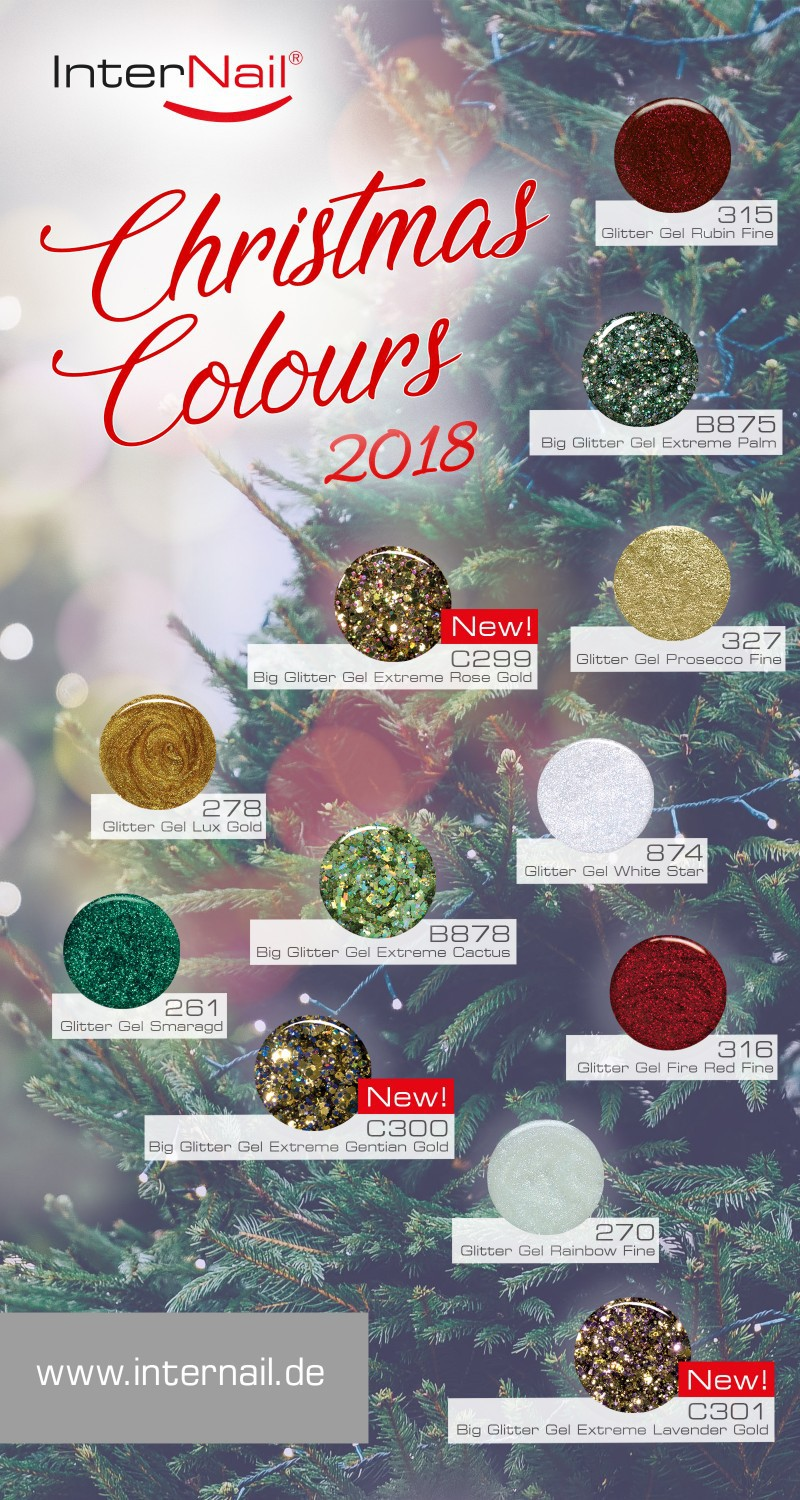 Christmas Colours 2018