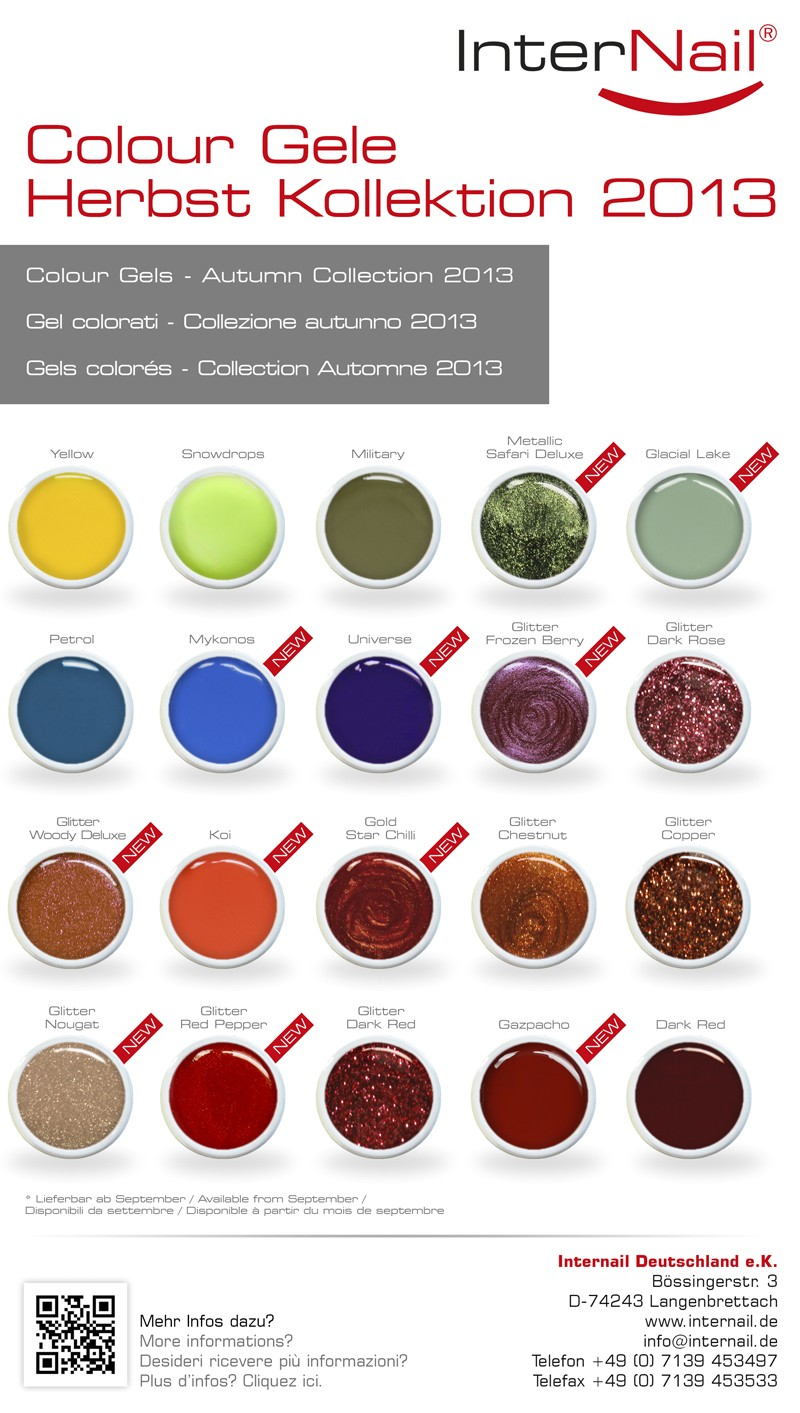 Colour Gele | Herbst Kollektion 2013