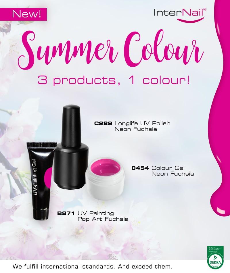 Summer Colour: 3 Products, 1 Colour